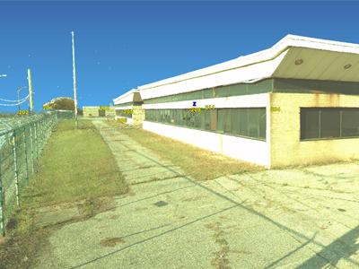 Burke Lakefront Airport 3D Laser Scan