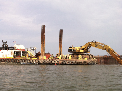 Dredging the Vermilion Port