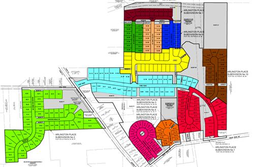Arlington Place Subdivision