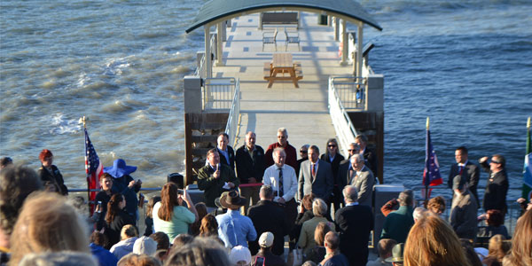 Painesville Township Park Pier Ribbon Cutting