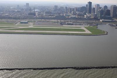 Burke Lakefront Airport Shoreline