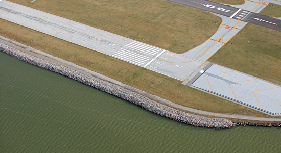 Burke Lakefront Airport Shoreline Restoration