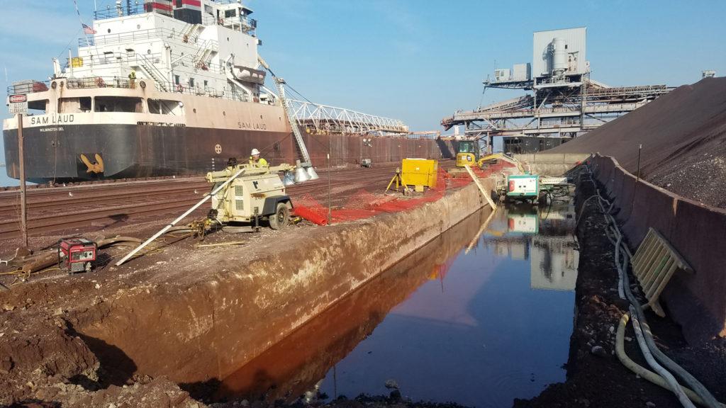 Cleveland Bulk Terminal Under Construction
