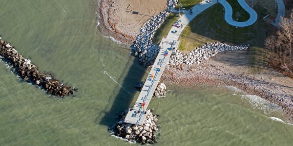Cleveland Metroparks Euclid Beach Pier